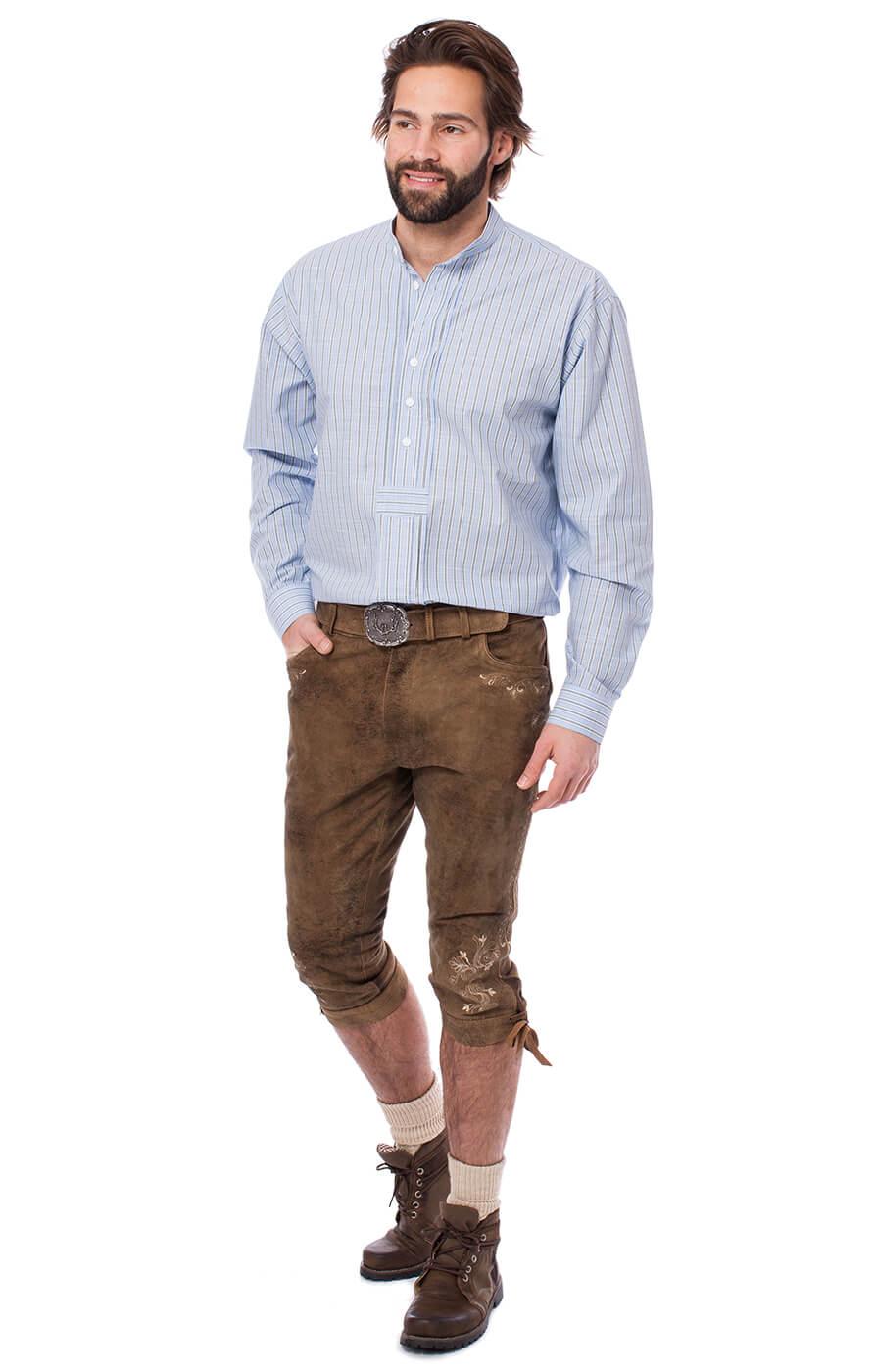 weitere Bilder von German traditional shirt 920001-3494-41 lightblue