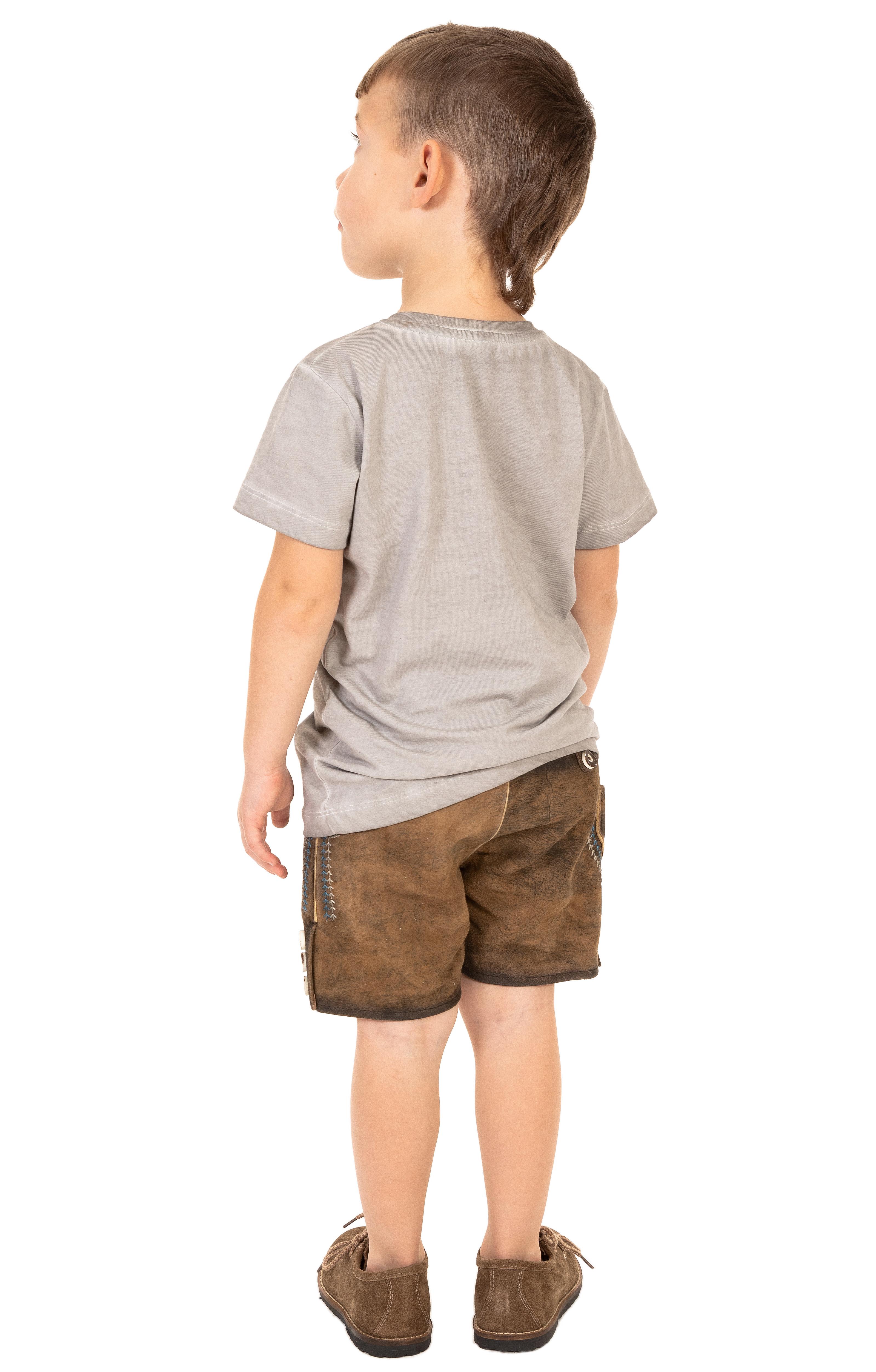 weitere Bilder von Children traditional shirt M28 - STURSCHAEDEL-KIDS gray