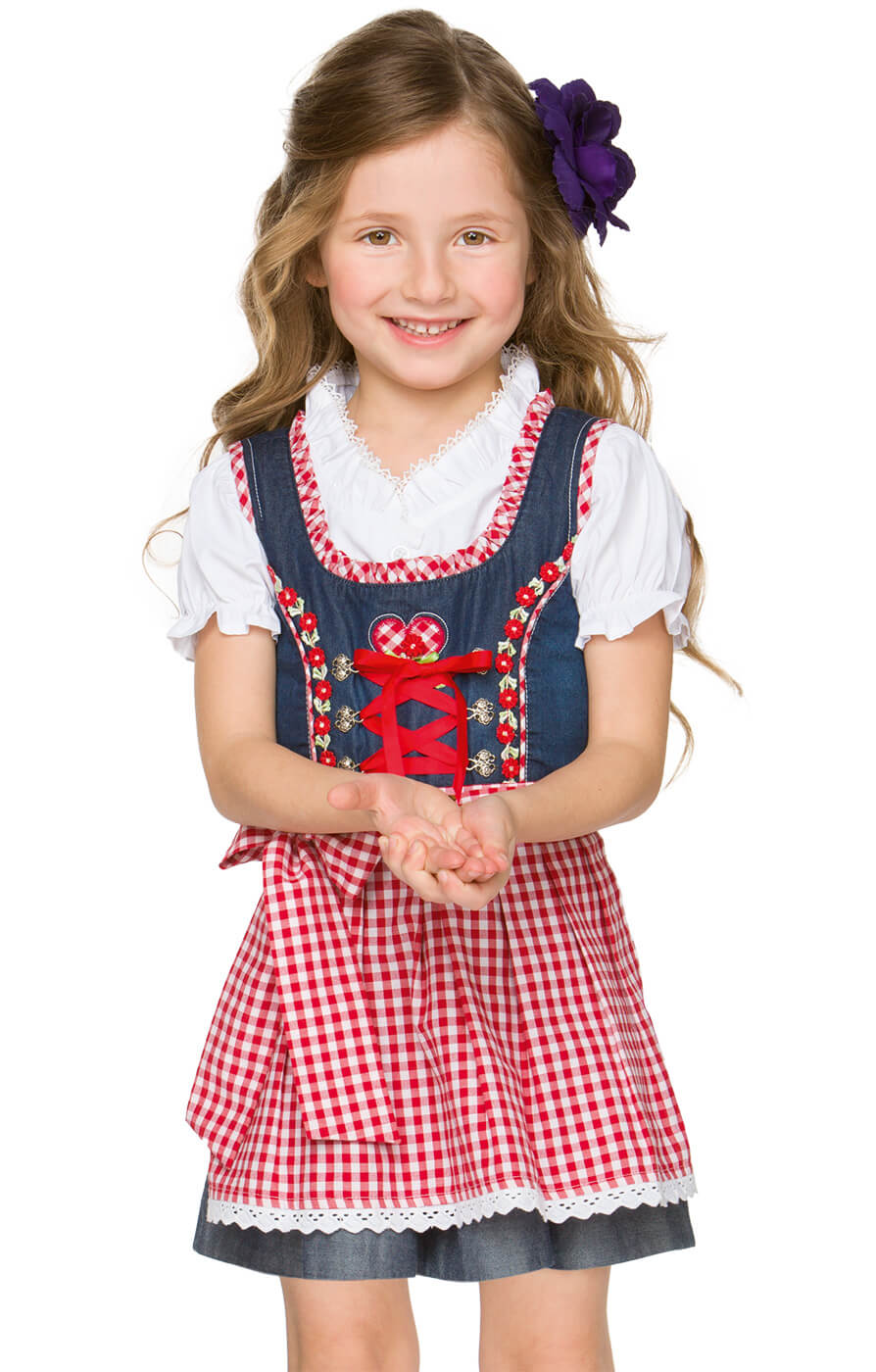 Kinderdirndl trueblue von Stockerpoint