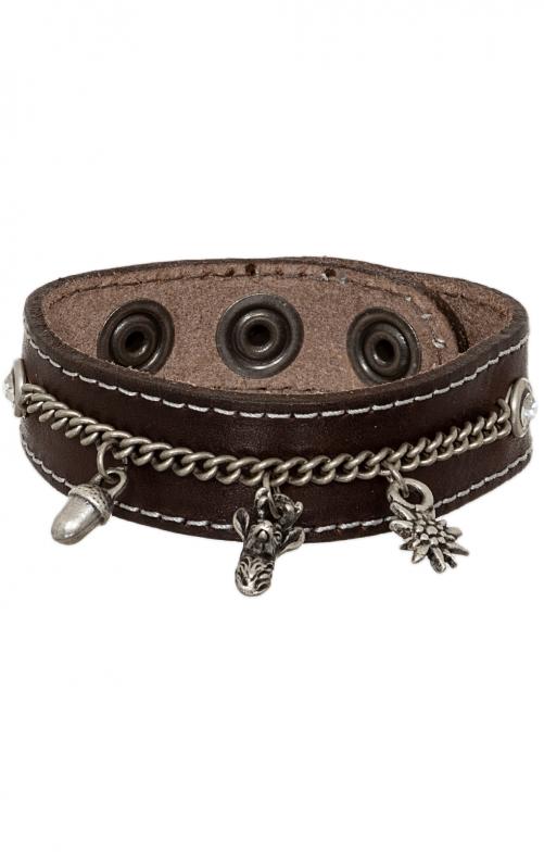Bracelet 19-3704 nappa brown