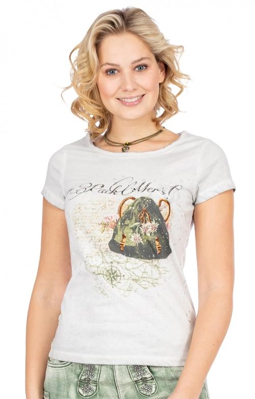 T-Shirt DORI hellgrau
