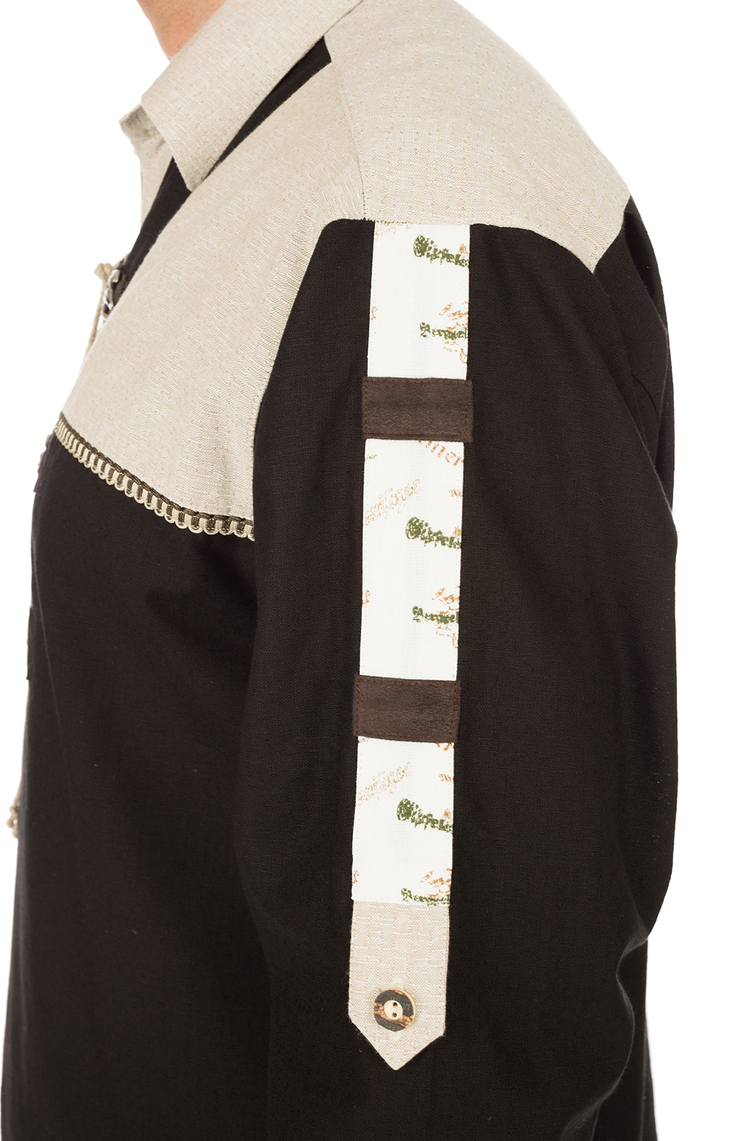 weitere Bilder von German traditional shirt BARANDER black