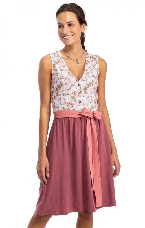Kleid Jersey Stretch SABRINA altrosa