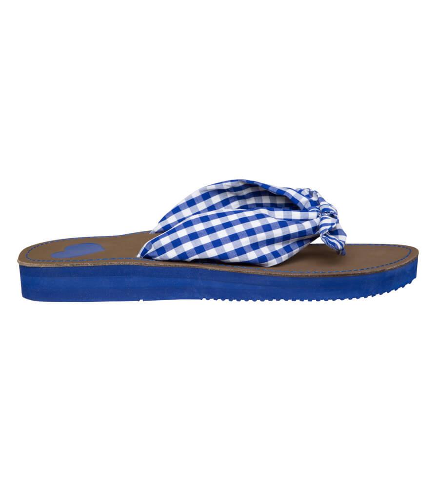Summer sandals 4113 blue von Krüger Dirndl