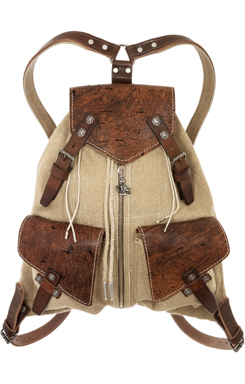 Traditional Backpack 174-3738 tan
