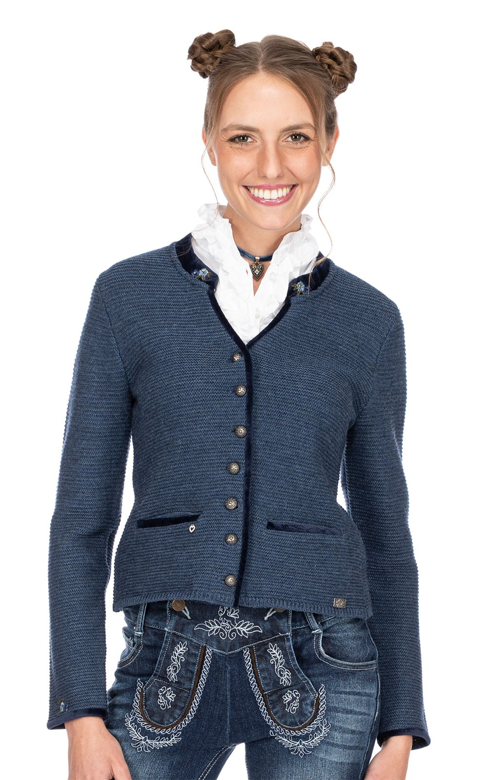 Spieth & Wensky Traditional Jackets MALTA jeansblue