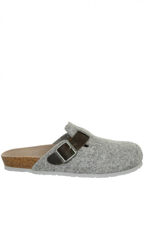 Pantoffeln G101551 RIVA hellgrau
