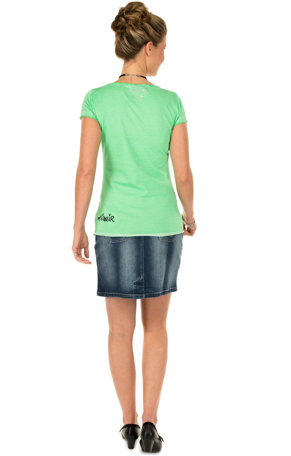 weitere Bilder von Trachten T-Shirt MALBA grün