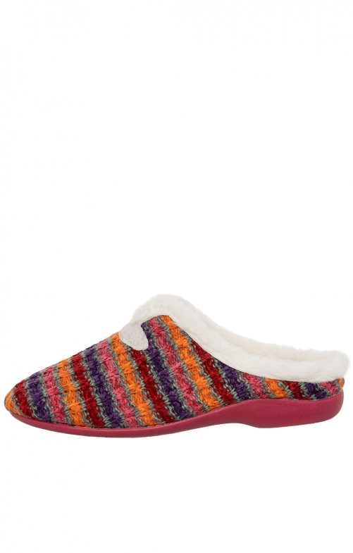 Traditional Slipper DOREEN red