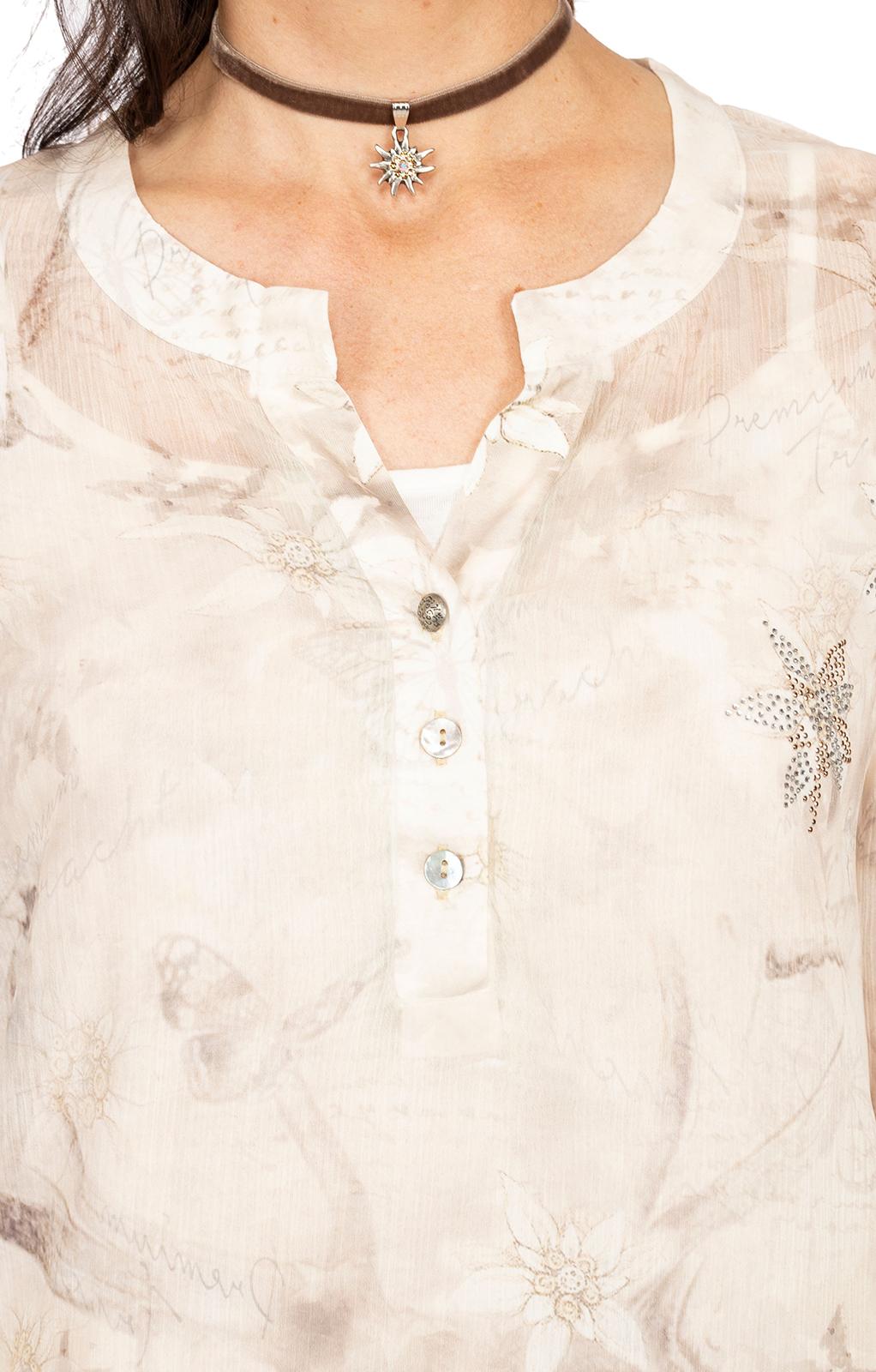 weitere Bilder von Bluse 2tlg. CORALIE beige