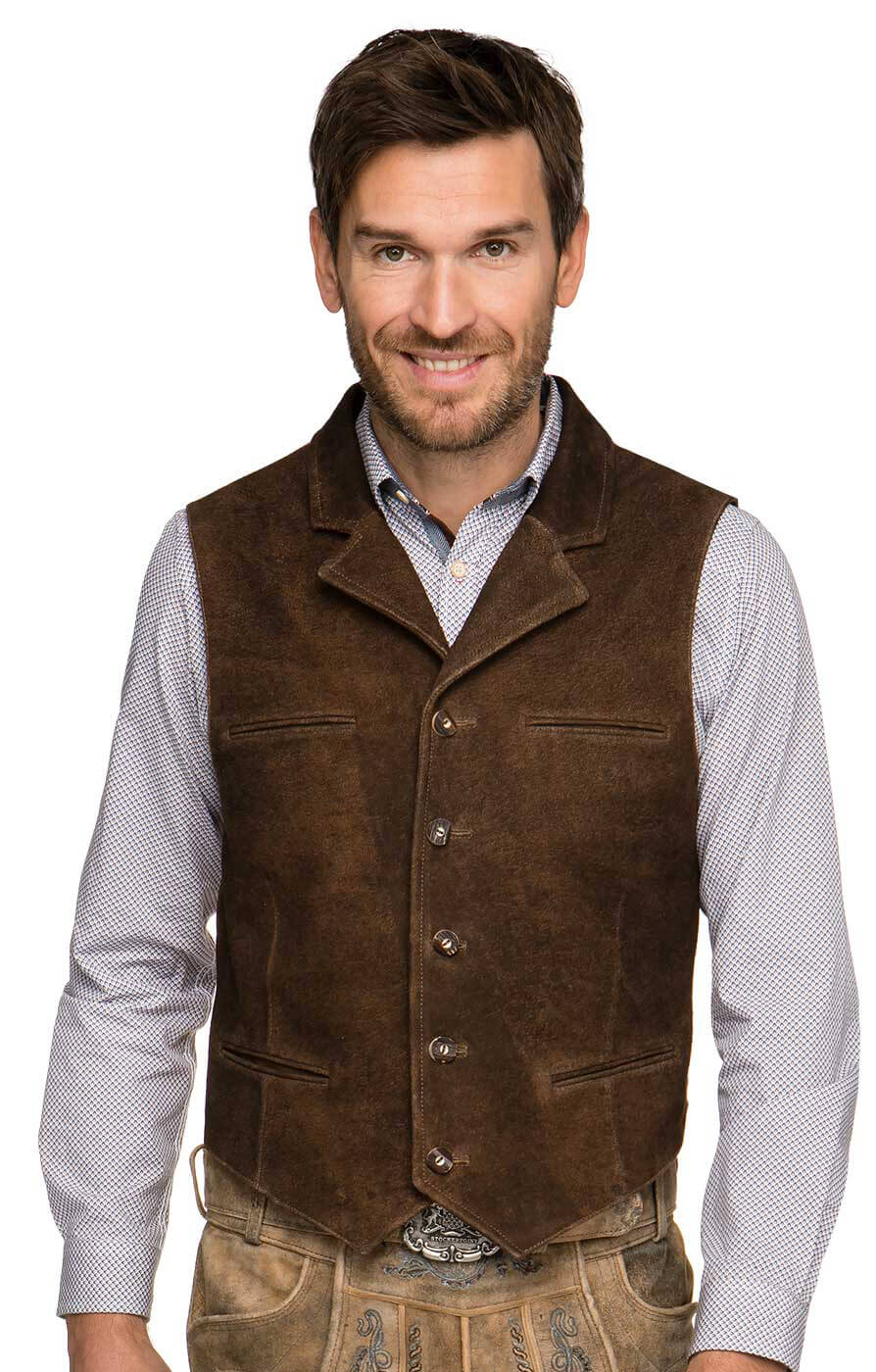 Traditional waistcoat BRANDON biberantik von Stockerpoint
