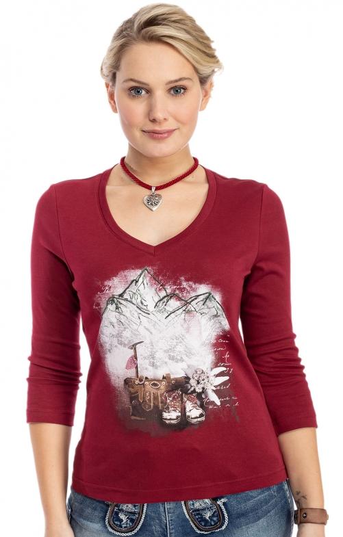 Shirt 321124 bordeaux