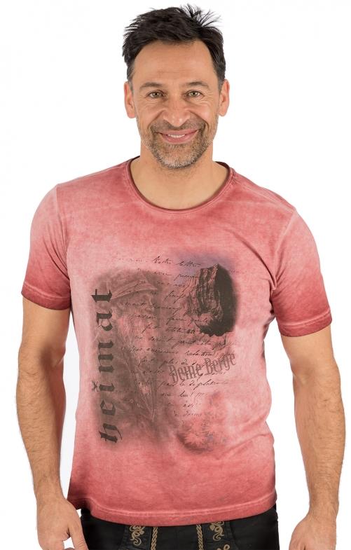 Trachten T-Shirt FYNN rot