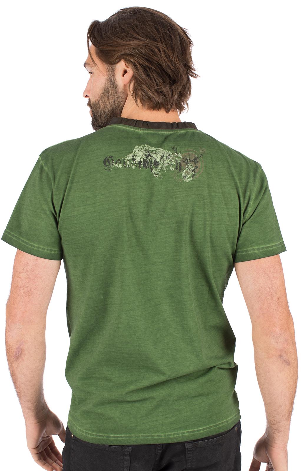 weitere Bilder von Trachten T-Shirt B36 - GAUDIBURSCH grün