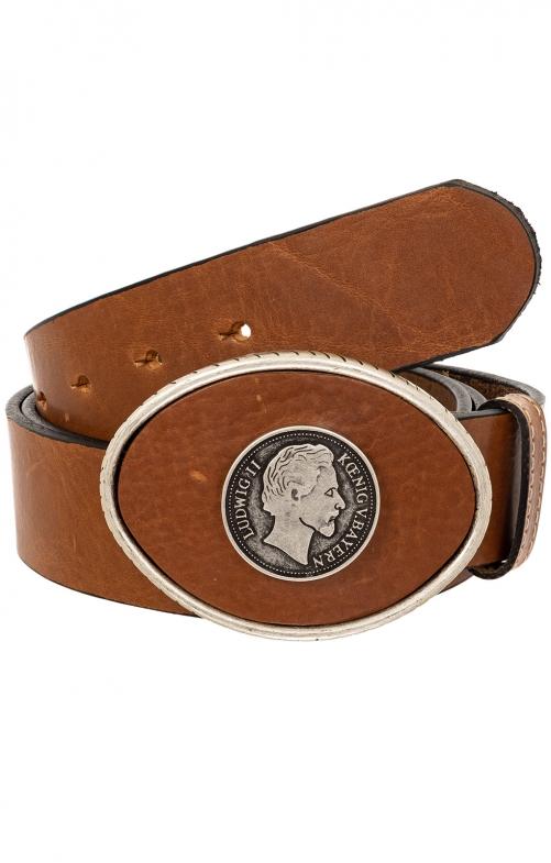 Trachten Belts 7840S121-12 medium brown