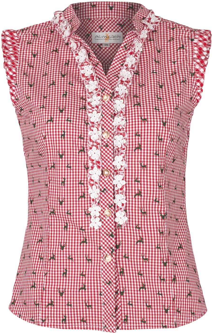 weitere Bilder von Trachten blouse BOBI-CO red