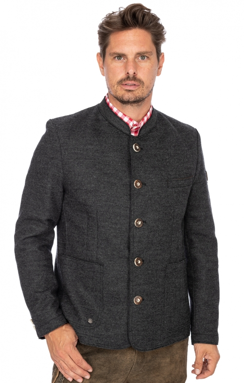 German traditional jacket WOLFGANG2 anthracite