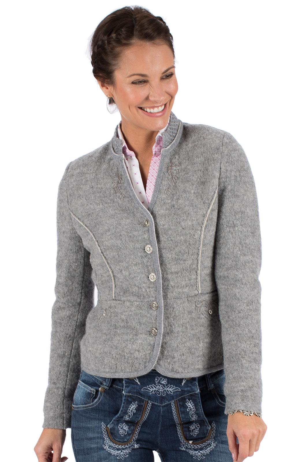 weitere Bilder von Traditional Jackets Walk Jacket KRIEMHILD WJ gray