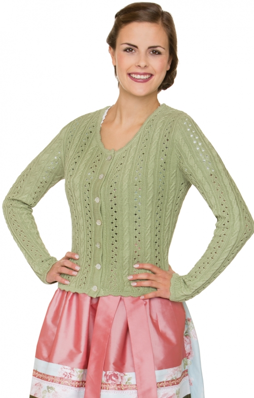 Costume cardigan LIZ2 green