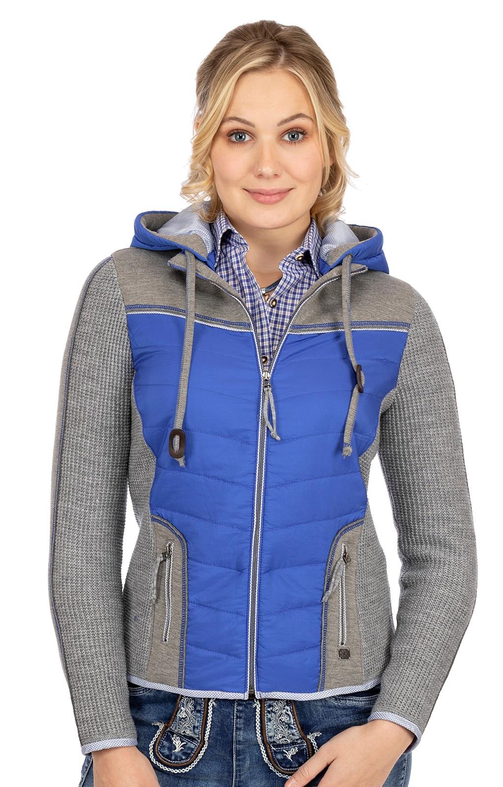 Spieth & Wensky Costumes Outdoor Jacket NALBACH blue light gray
