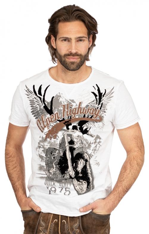 T-Shirt TILL weiß