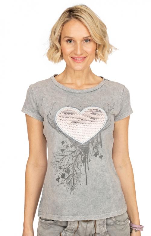 T-Shirt ESMERALDA grau