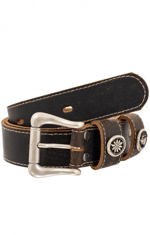 Trachten Belts 9035S170-11 brown black