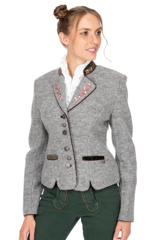 Traditional Jackets MILAN light gray olive