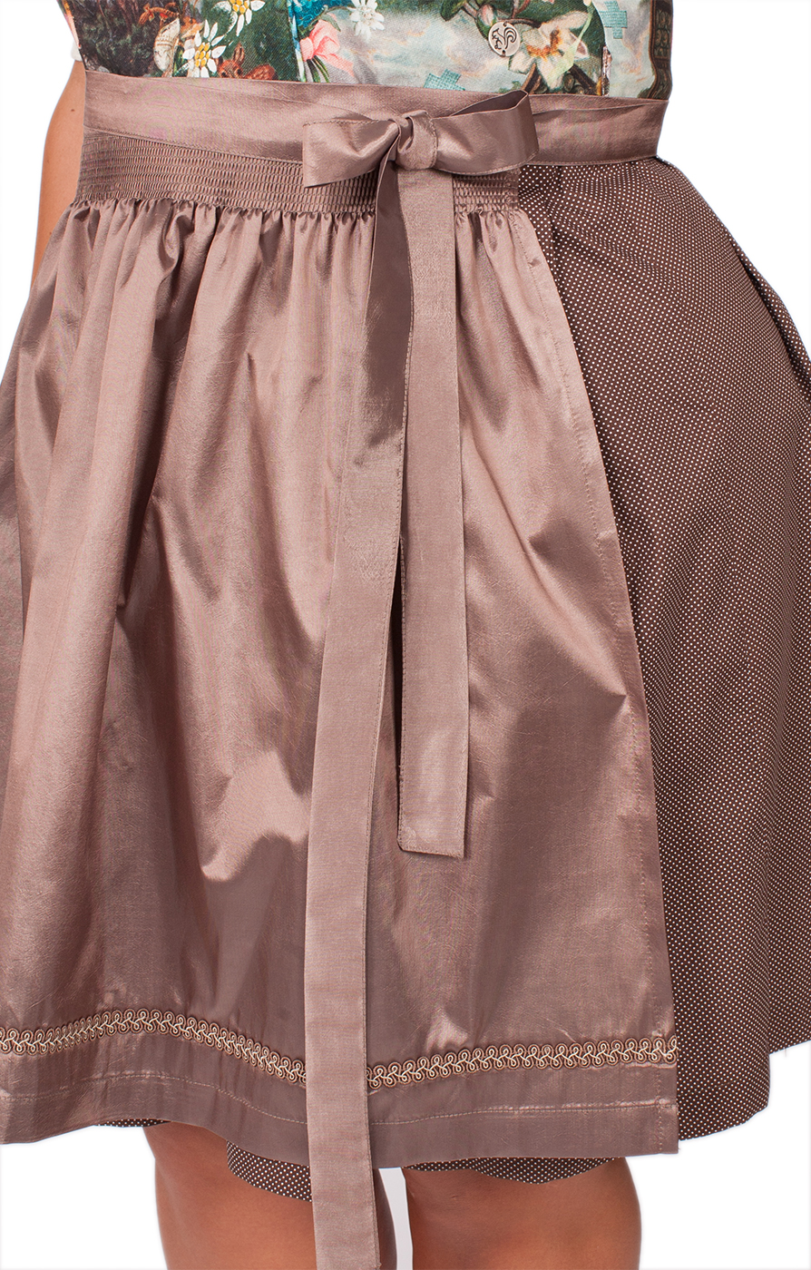 weitere Bilder von Mididirndl 2tlg. Clarice xxl colorful brown 58cm
