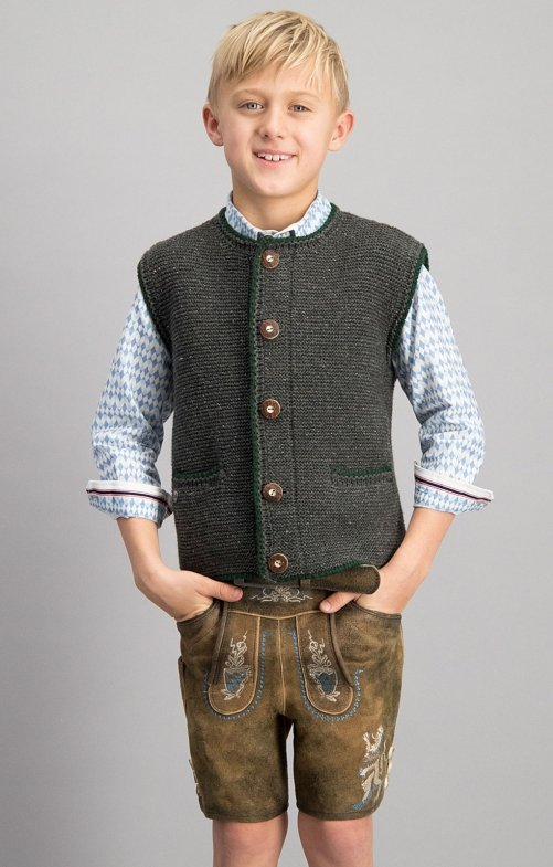 Children trick vest LINUS anthracite