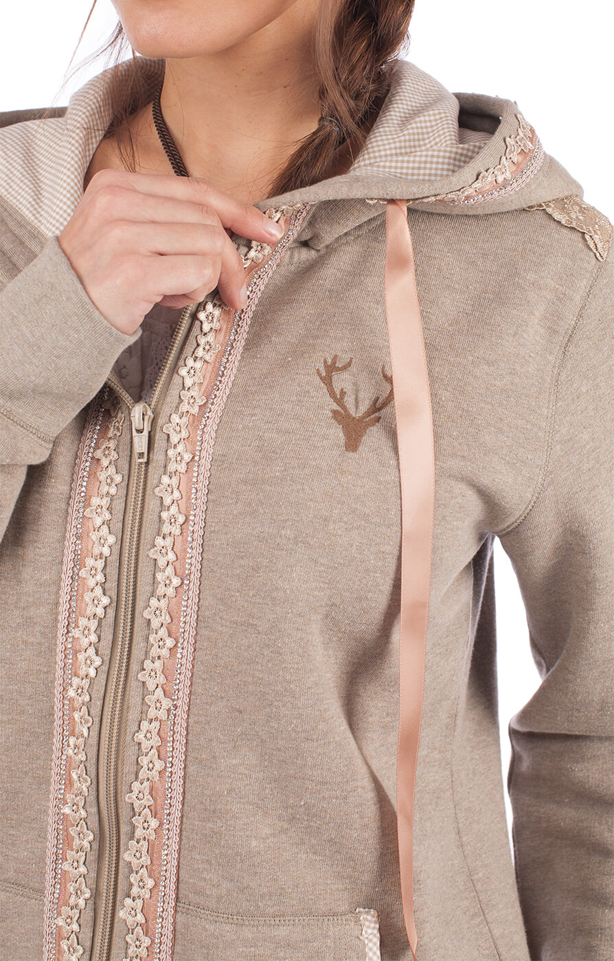 weitere Bilder von Trachtenjacke Hoody TASHINA funghi