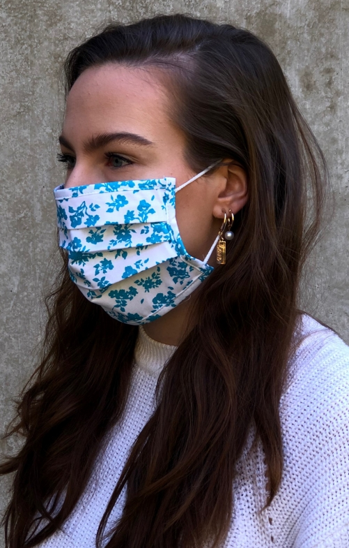 Face mask 2735-47 turquoise
