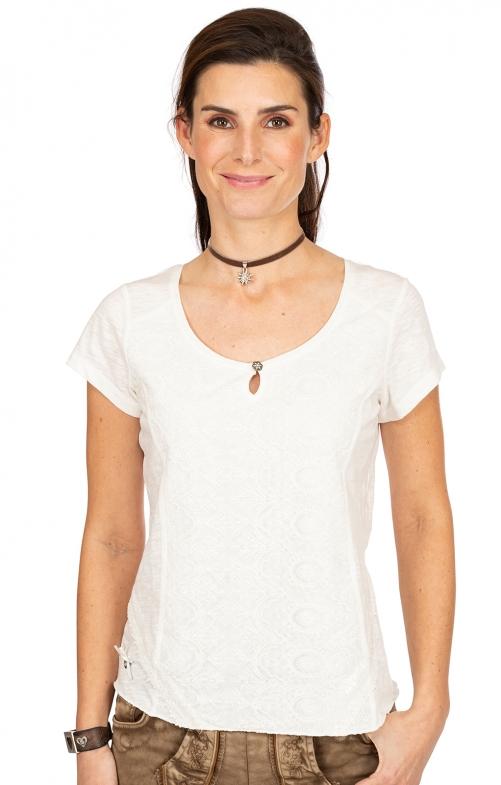 T-Shirt CORNELIA weiß