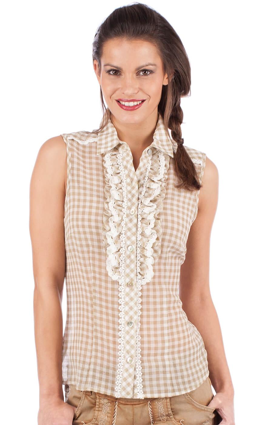 Traditional blouse 33822-15 nature von Krüger Dirndl