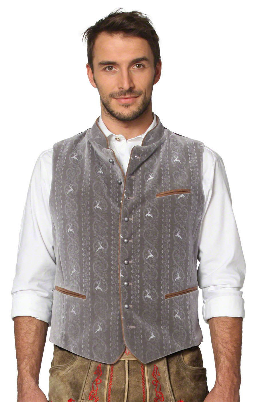 Traditional waistcoat Antonio stone von Stockerpoint