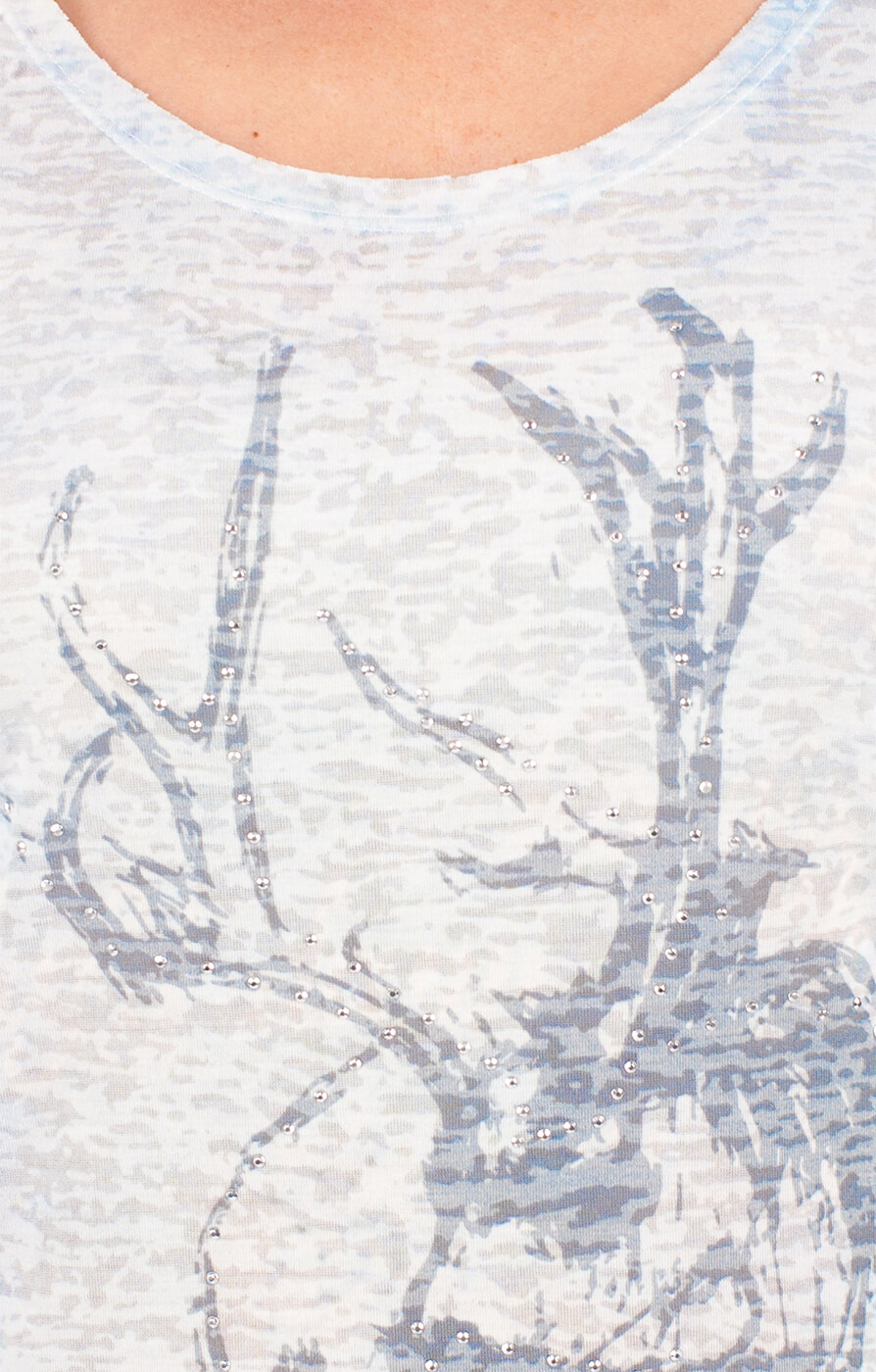 weitere Bilder von Klederdracht T - Shirt DANIELA blauw