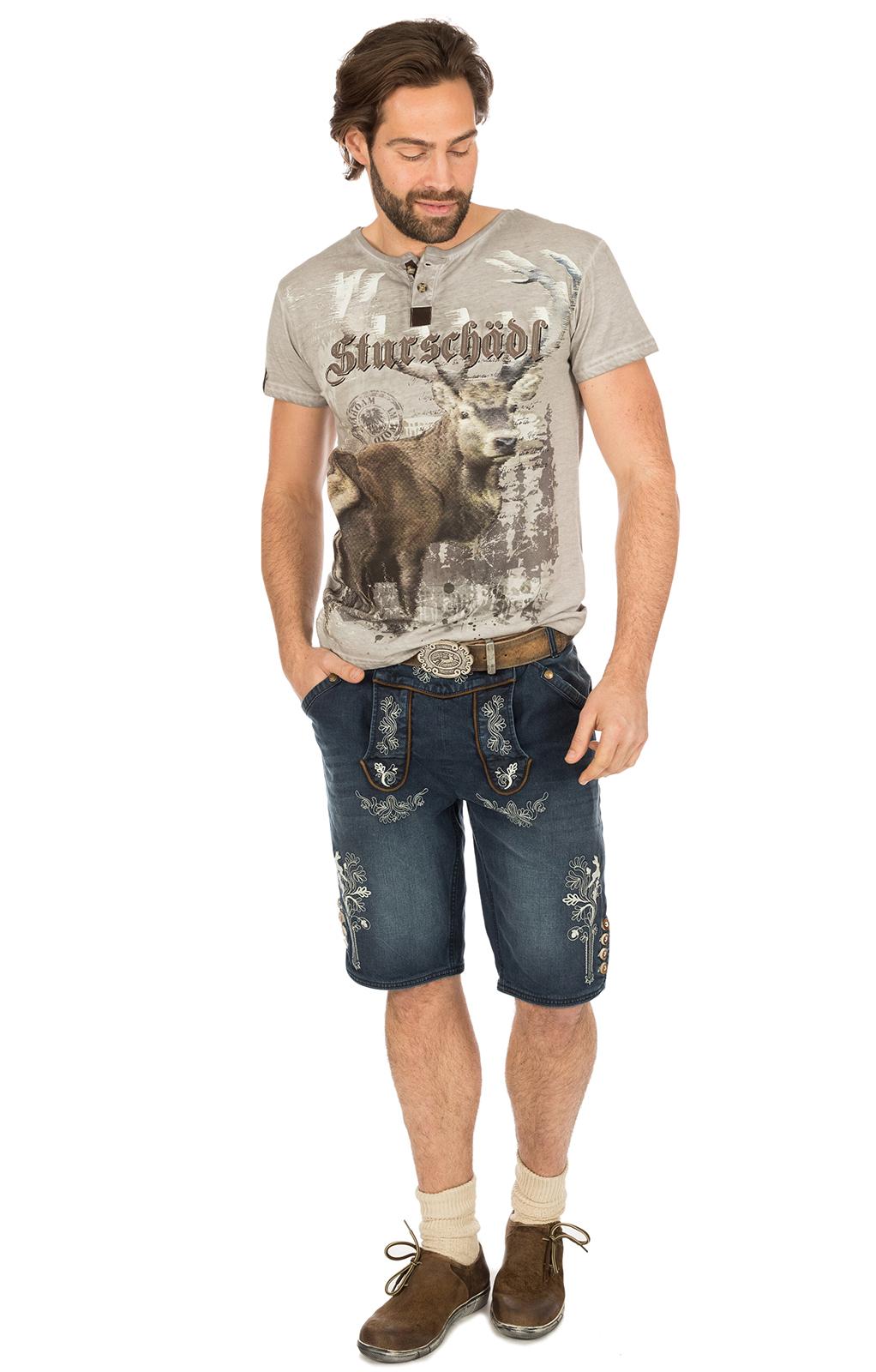 weitere Bilder von Trachten T-Shirt M28 STURSCHÄDL grau