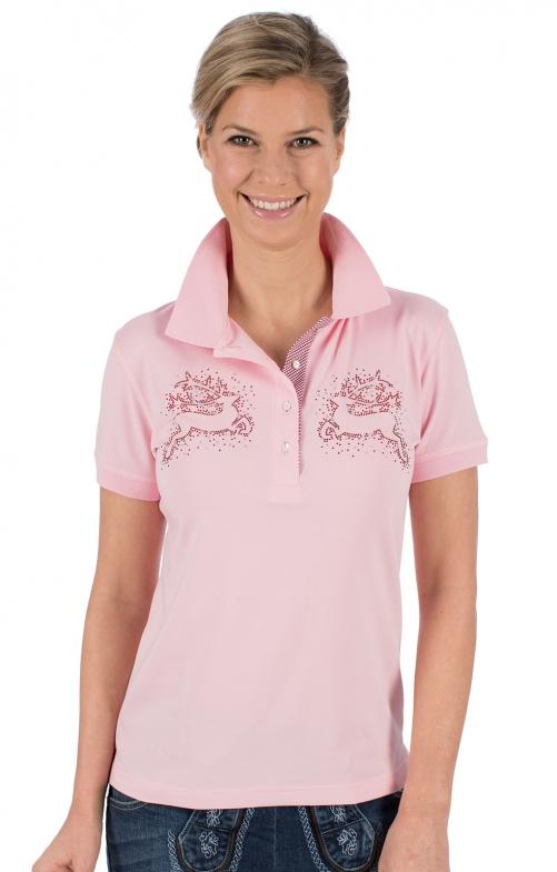 Trachten Shirt BRITTA pink