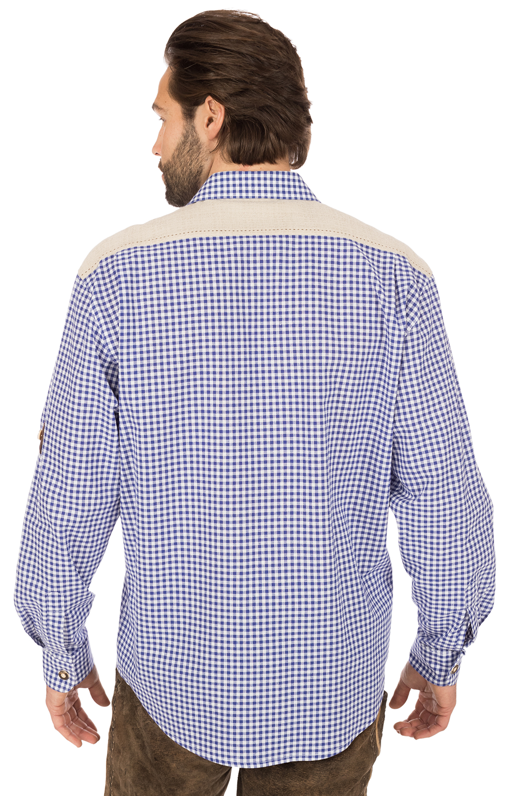weitere Bilder von German traditional shirt BELINI blue