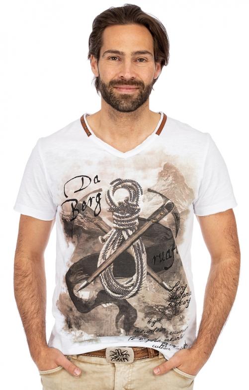 T-Shirt EMILIO weiß