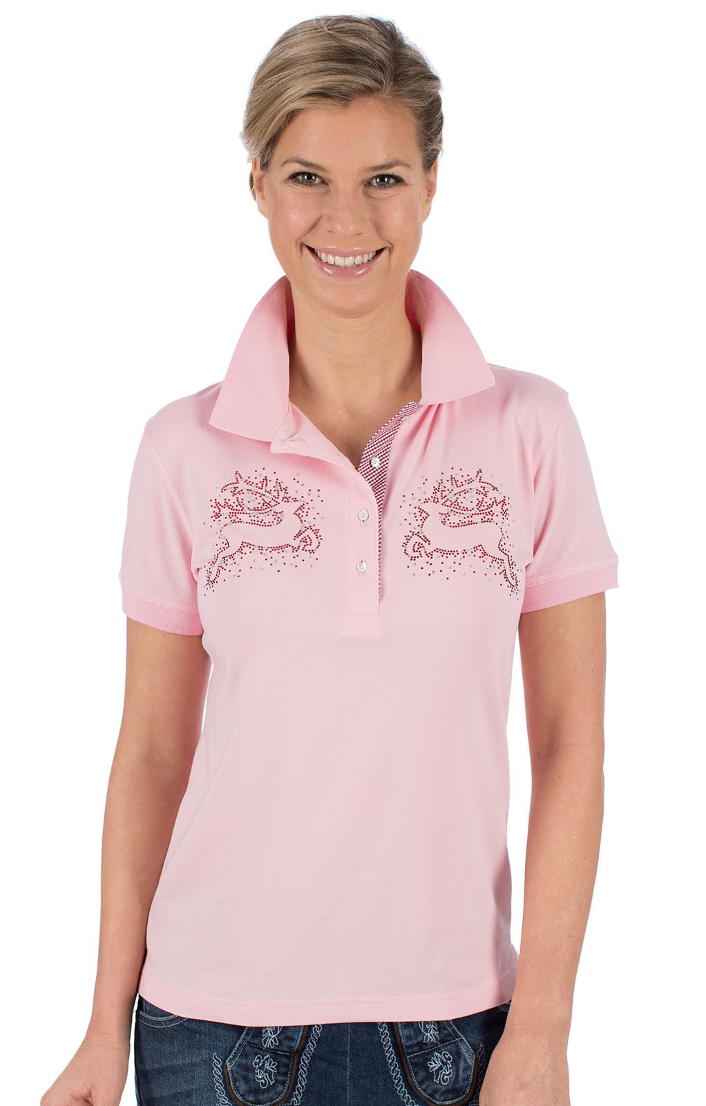 Trachten T-Shirt BRITTA rose von OS-Trachten