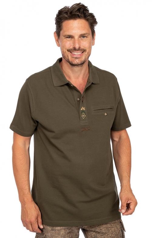 Poloshirt 428007-2711-57 taupe