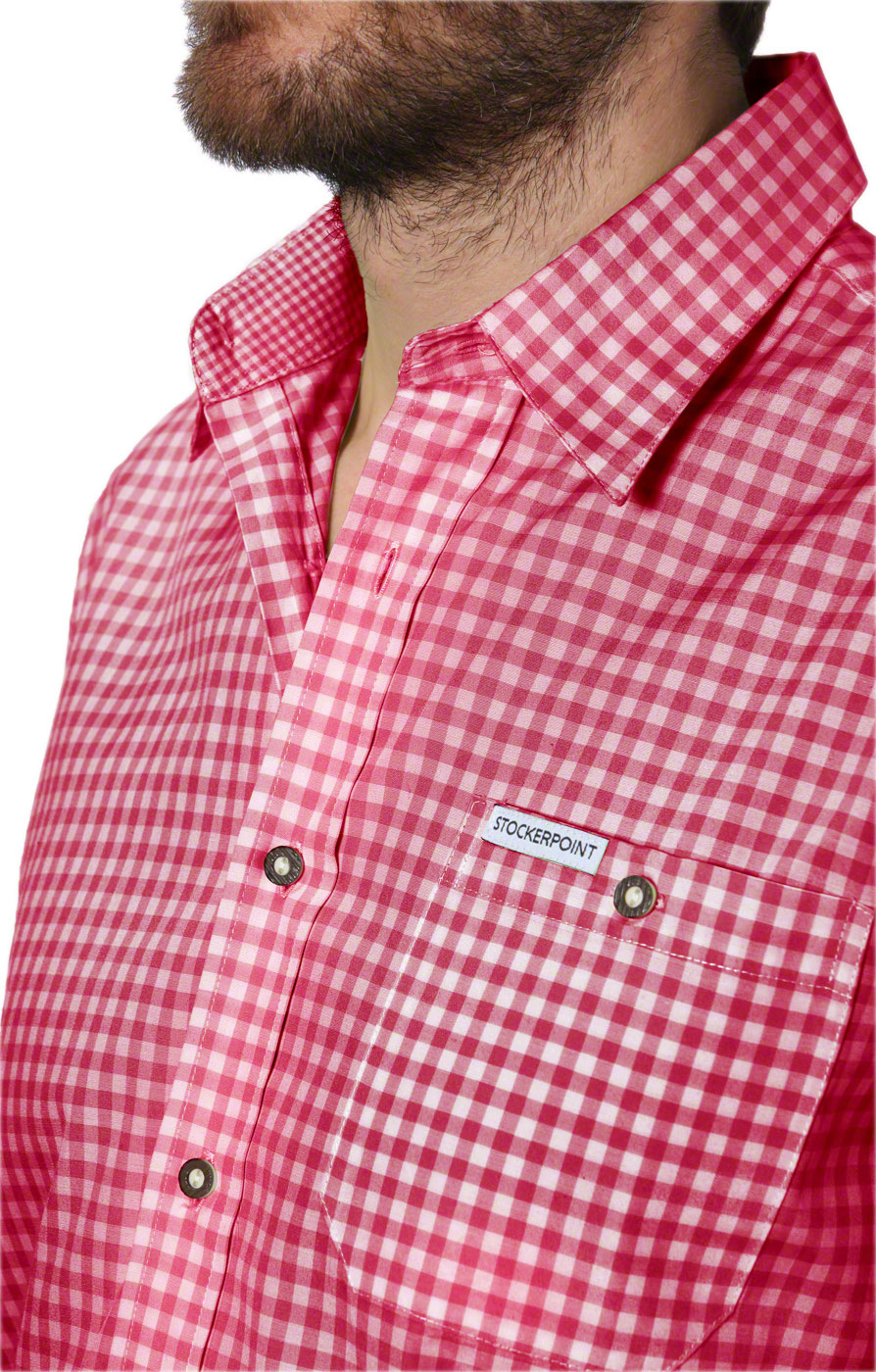 weitere Bilder von German traditional shirt checkered Campos2 red