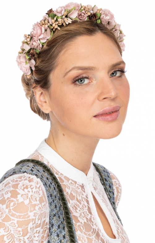Hair- and Hat accessories HANNAH old rosa