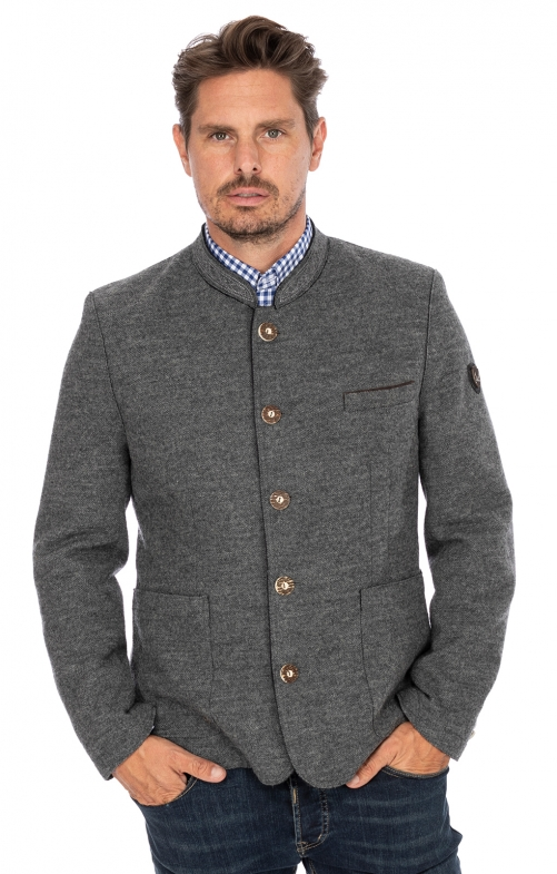 German traditional jacket WOLFGANG2 gray