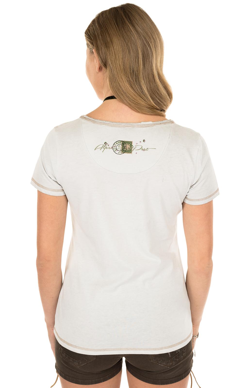 weitere Bilder von Trachten Shirt K06-ALMBUSSERL ecru