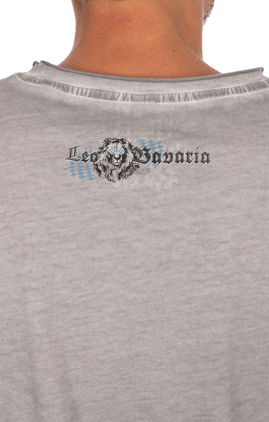 weitere Bilder von Maglietta Trachten G15 - LEO BAVARIA grigio