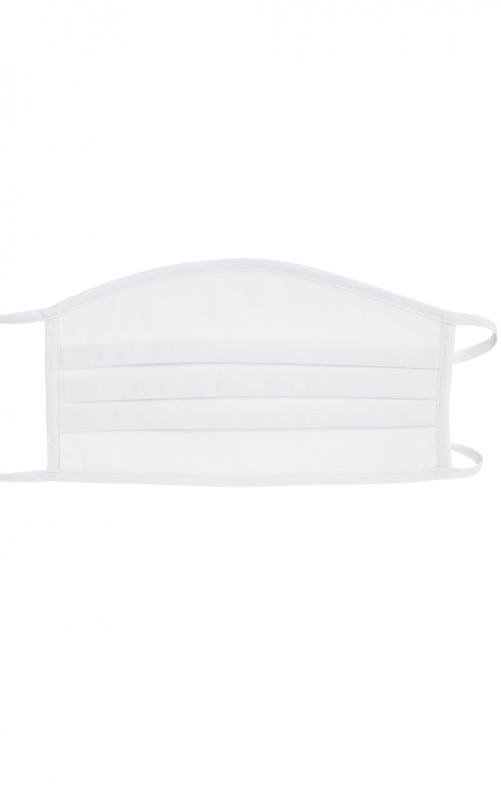 4er-Set Stoffmaske 3-lagig Baumwolle wiederverwendbar MSA300 weiss