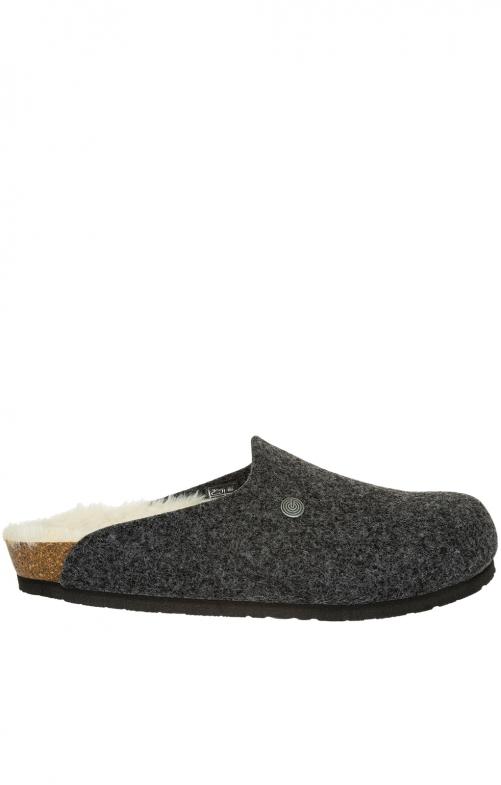 Pantoffeln G101565 HELSINKI anthrazit
