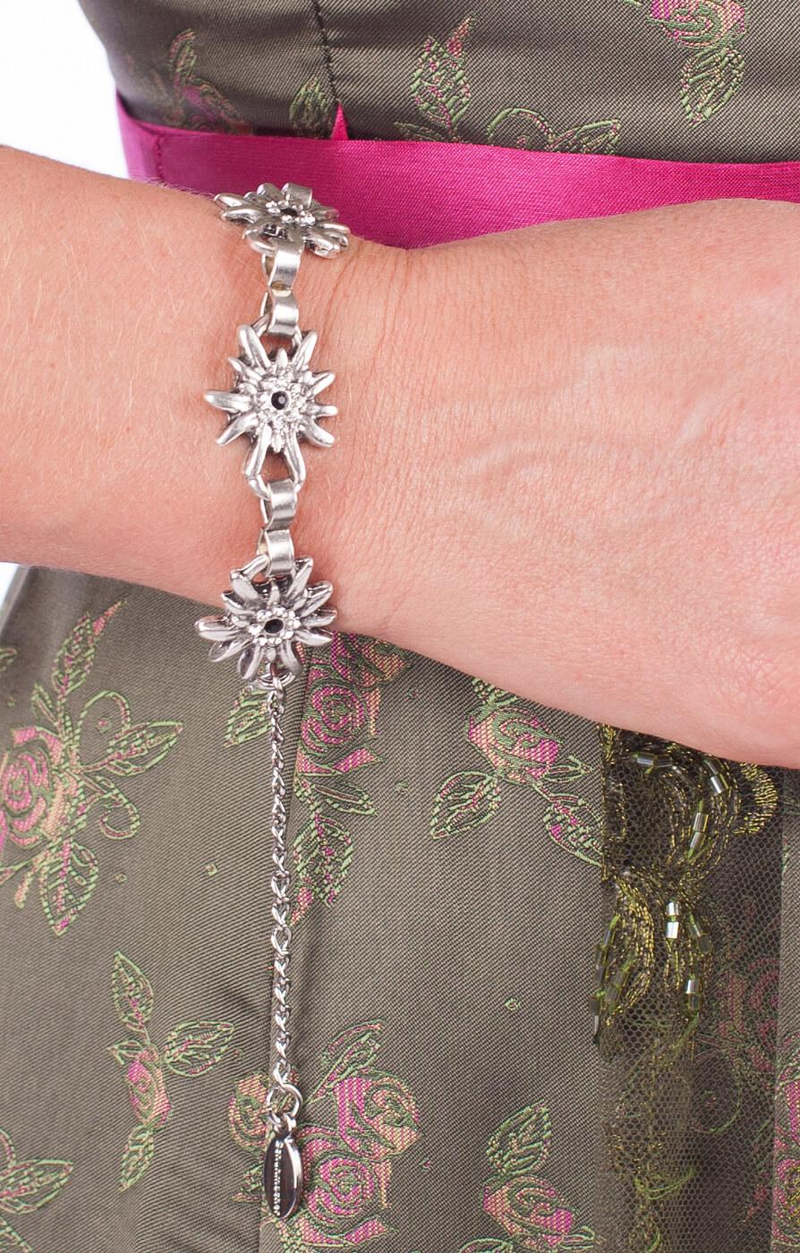 weitere Bilder von Armkette AB9197 EDW mit Steine kristall